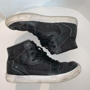 Supra Men Vaider Black-White Shoes 08205-002-M
